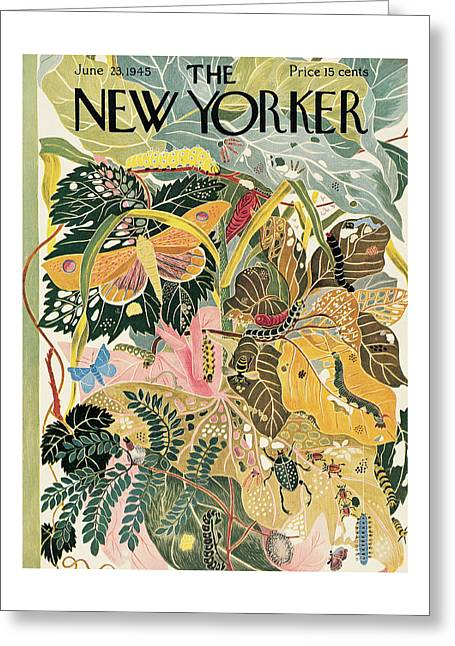 New Yorker June 23rd, 1945 Greeting Card