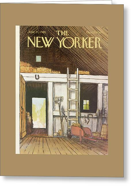 New Yorker June 23rd, 1980 Greeting Card by Arthur Getz