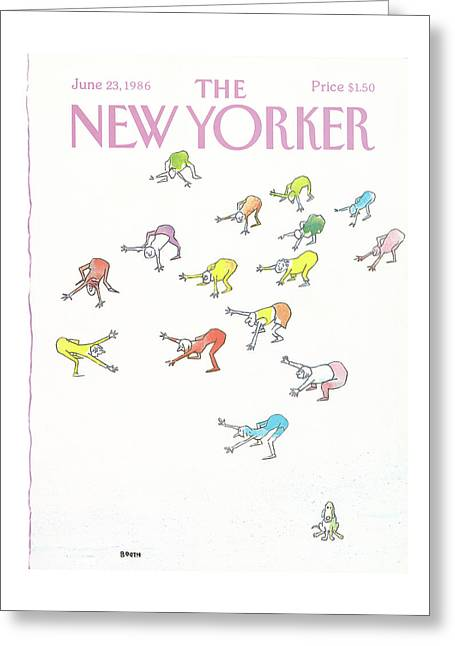New Yorker June 23rd, 1986 Greeting Card