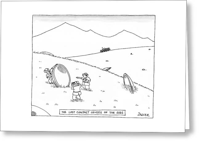 New Yorker June 23rd, 1997 Greeting Card