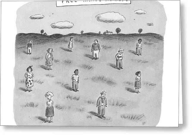 New Yorker June 23rd, 1997 Greeting Card by Roz Chast
