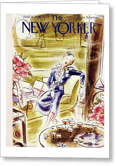 New Yorker June 25 1938 Greeting Card