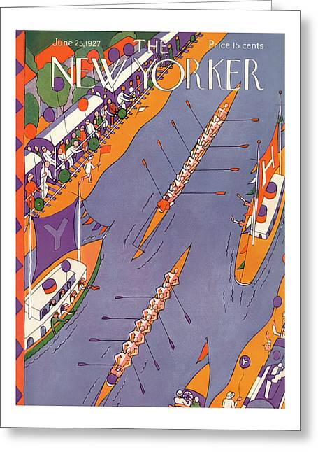 New Yorker June 25th, 1927 Greeting Card