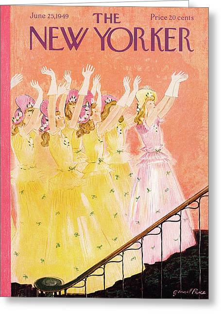 New Yorker June 25th, 1949 Greeting Card
