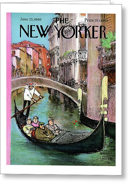 New Yorker June 25th, 1966 Greeting Card