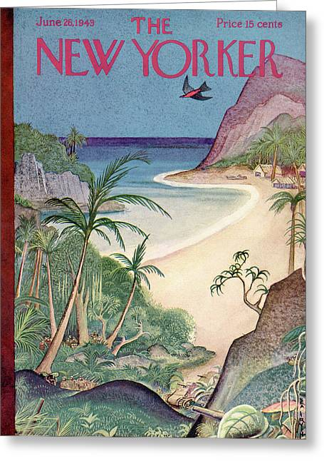 New Yorker June 26th, 1943 Greeting Card