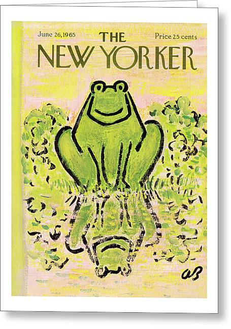 New Yorker June 26th, 1965 Greeting Card