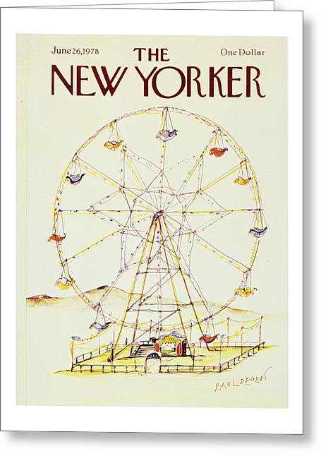 New Yorker June 26th 1978 Greeting Card