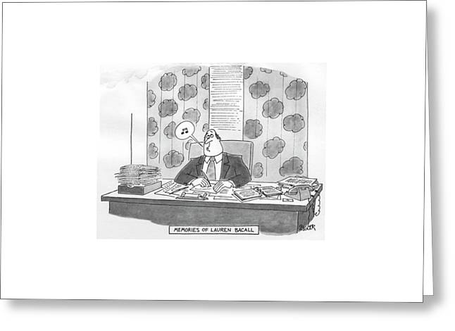 New Yorker June 27th, 1977 Greeting Card by Jack Ziegler