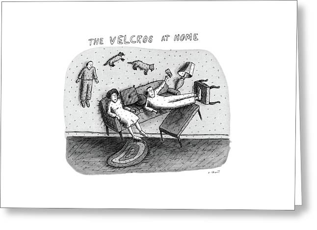 New Yorker June 27th, 1983 Greeting Card by Roz Chast