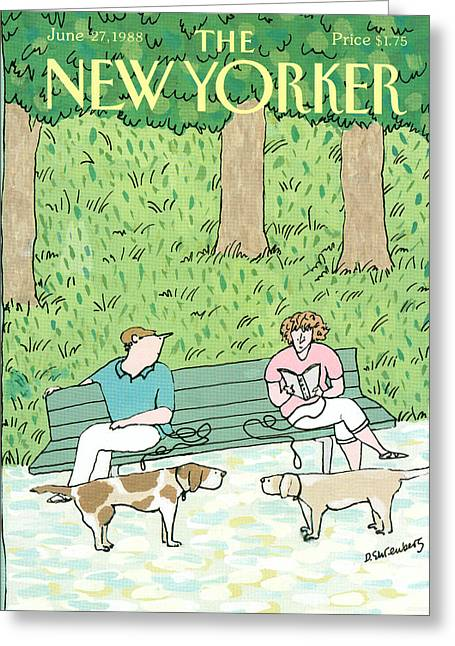 New Yorker June 27th, 1988 Greeting Card