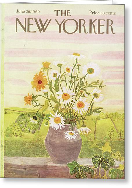 New Yorker June 28th, 1969 Greeting Card