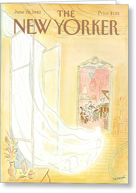 New Yorker June 28th, 1982 Greeting Card