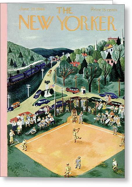 New Yorker June 29th, 1946 Greeting Card