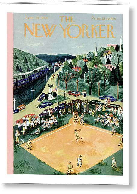 New Yorker June 29, 1946 Greeting Card