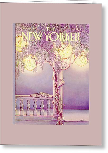 New Yorker June 29th, 1981 Greeting Card by Jenni Oliver