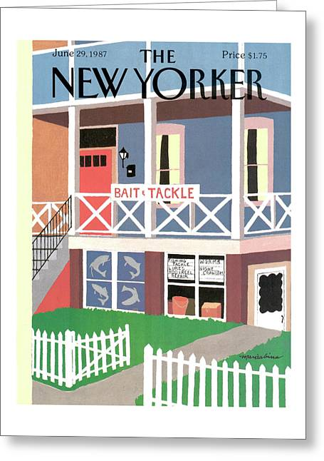 New Yorker June 29th, 1987 Greeting Card
