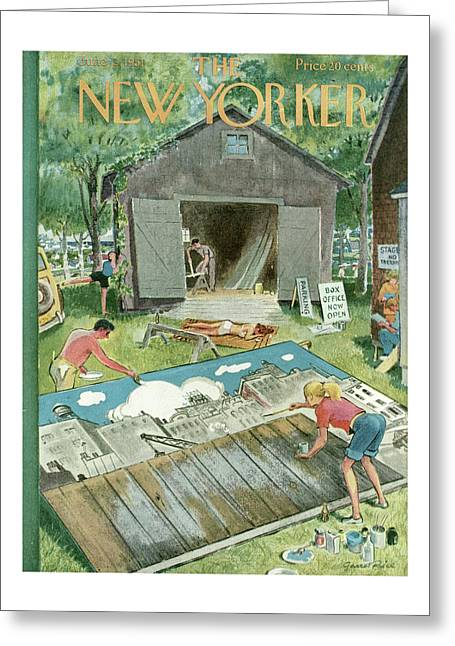 New Yorker June 2nd, 1951 Greeting Card