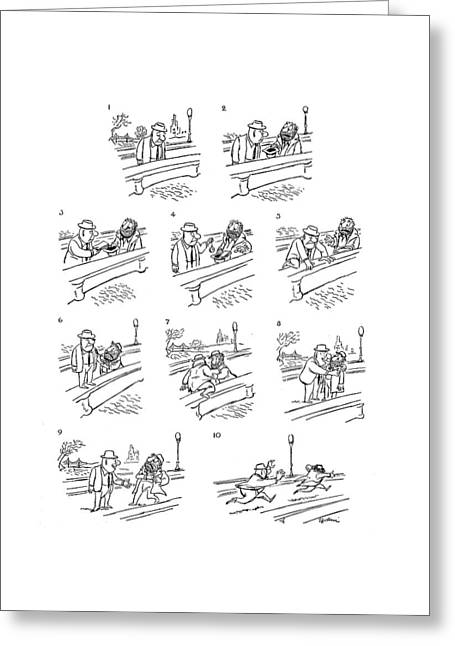 New Yorker June 2nd, 1962 Greeting Card