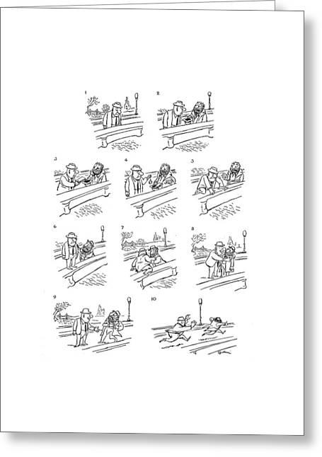 New Yorker June 2nd, 1962 Greeting Card by Eldon Dedini