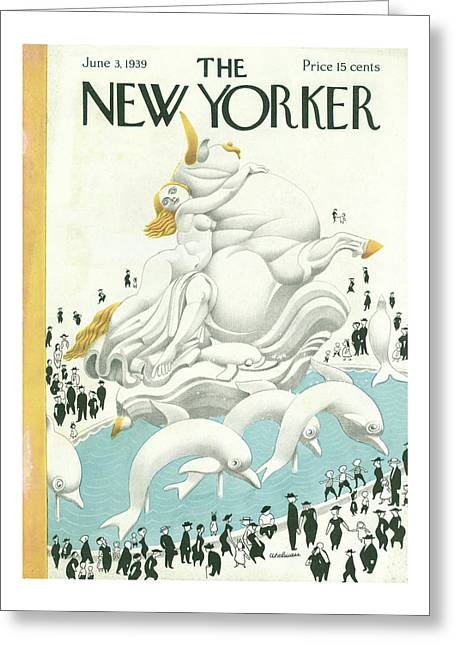 New Yorker June 3 1939 Greeting Card