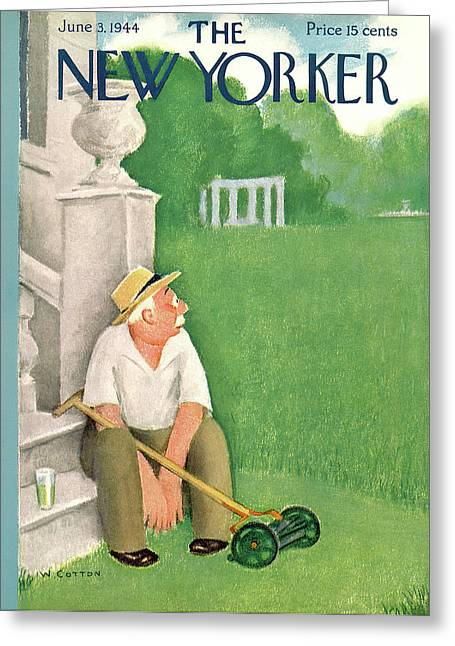 New Yorker June 3rd, 1944 Greeting Card