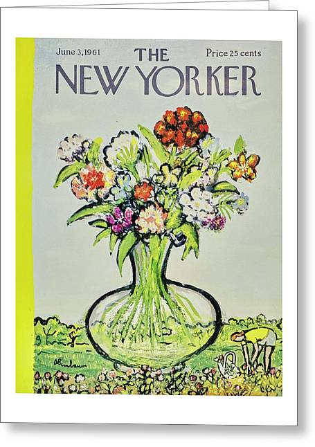 New Yorker June 3rd 1961 Greeting Card