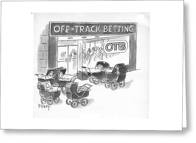 New Yorker June 3rd, 1972 Greeting Card