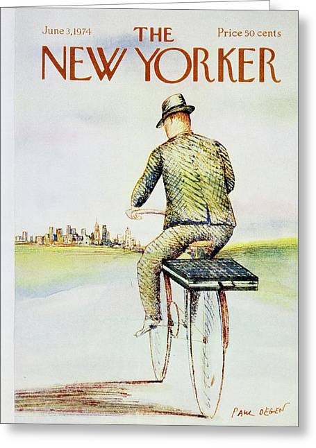 New Yorker June 3rd 1974 Greeting Card