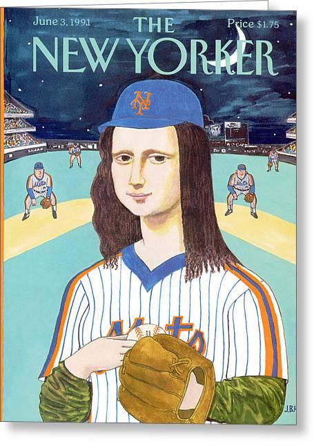 New Yorker June 3rd, 1991 Greeting Card by J.B. Handelsman