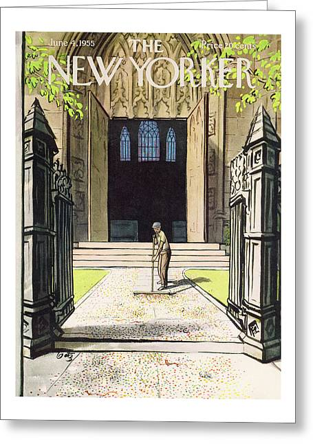 New Yorker June 4th, 1955 Greeting Card