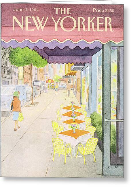 New Yorker June 4th, 1984 Greeting Card