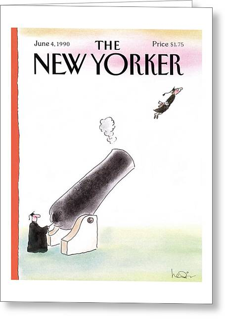 New Yorker June 4th, 1990 Greeting Card