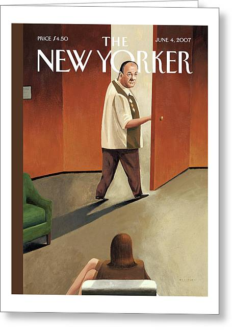 New Yorker June 4th, 2007 Greeting Card