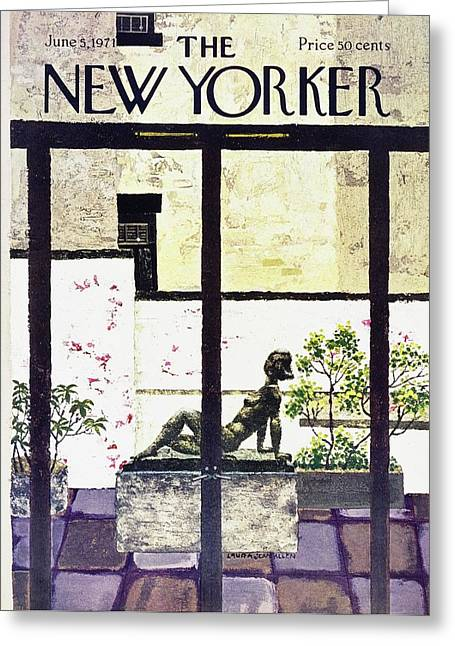 New Yorker June 5th 1971 Greeting Card