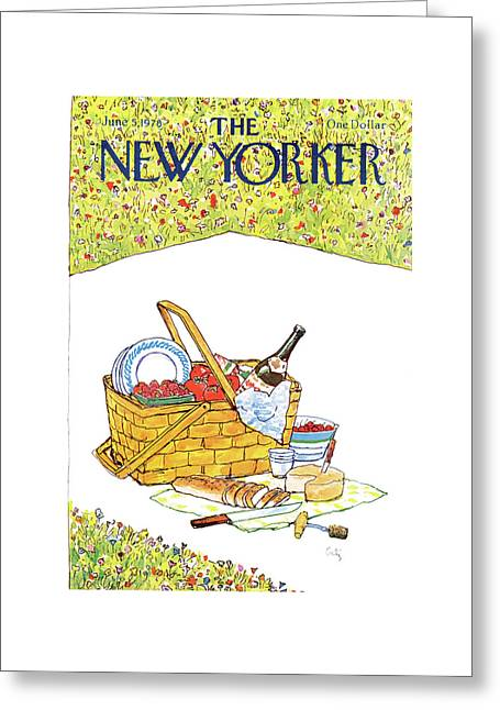 New Yorker June 5th, 1978 Greeting Card by Arthur Getz