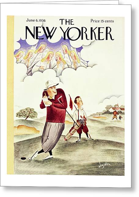 New Yorker June 6 1936 Greeting Card