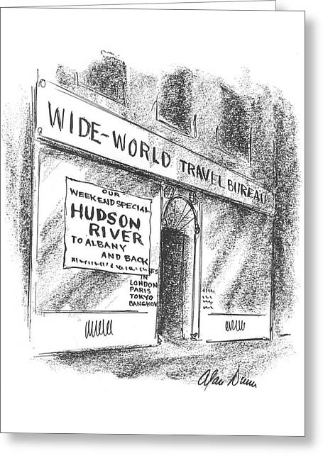 New Yorker June 6th, 1942 Greeting Card