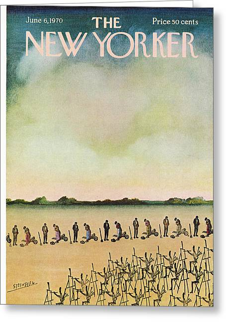 New Yorker June 6th, 1970 Greeting Card