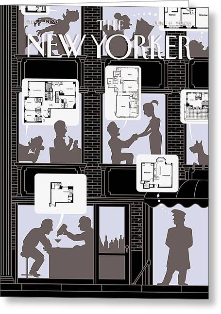 New Yorker June 6th, 2005 Greeting Card