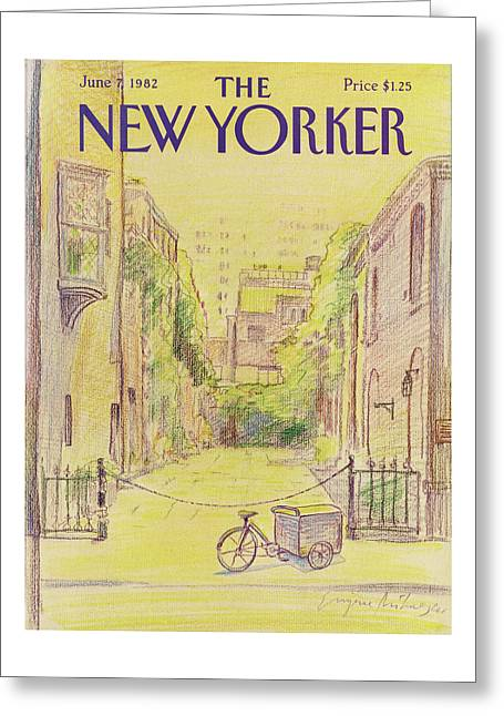 New Yorker June 7th, 1982 Greeting Card