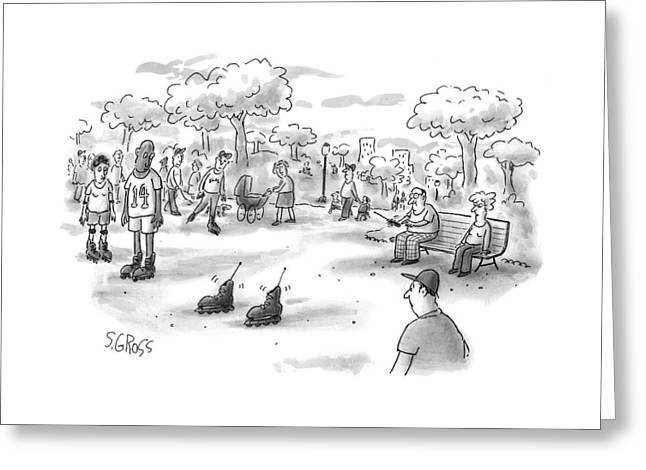 New Yorker June 7th, 1999 Greeting Card