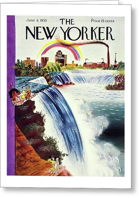 New Yorker June 8 1935 Greeting Card