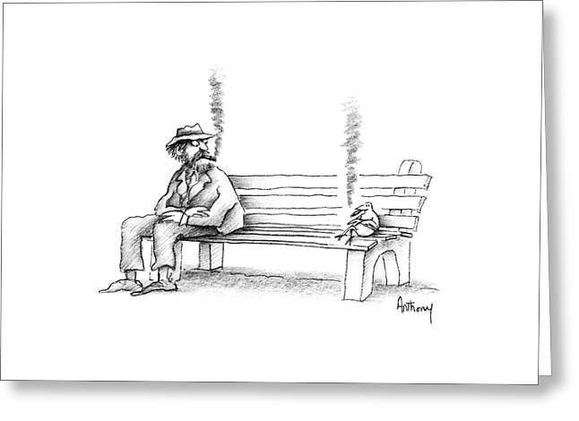 New Yorker June 8th, 1987 Greeting Card by Anthony Taber