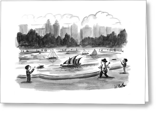 New Yorker June 8th, 1998 Greeting Card