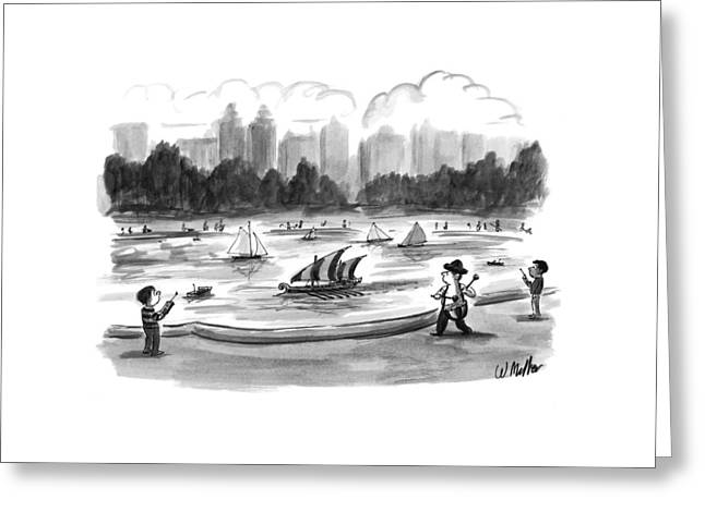 New Yorker June 8th, 1998 Greeting Card by Warren Miller