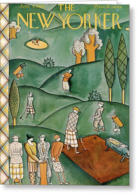 New Yorker June 9th, 1928 Greeting Card