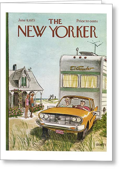 New Yorker June 9th, 1973 Greeting Card