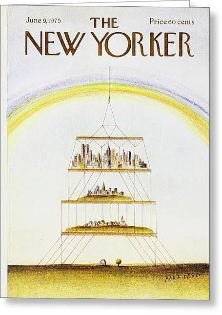 New Yorker June 9th 1975 Greeting Card