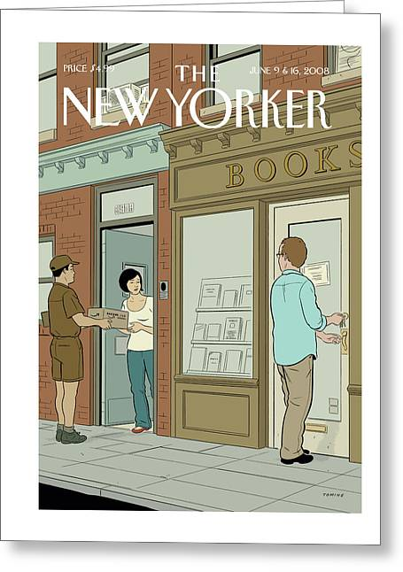 New Yorker June 9th, 2008 Greeting Card
